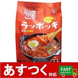 (即席 ラッポッキ DONGWON 9人前(3人前×3セット) 1512g)韓国オリジナル 屋台風 おいしい本場の味 韓国料理 おやつにも コストコ 10443