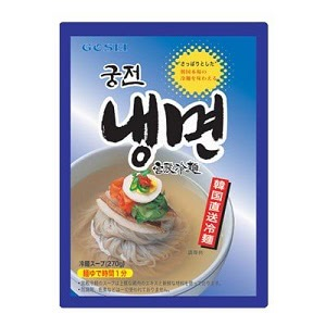 『宮殿』水冷麺セット(麺1個+スープ1個・1人前)