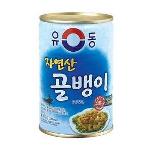 ユドン つぶ貝 缶詰 (天然) 400g