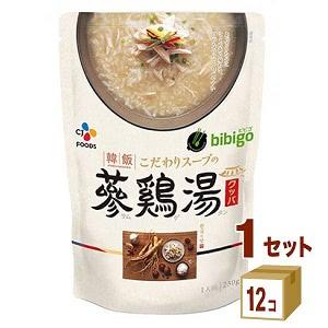 bibigo ビビゴ 韓飯 参鶏湯 オリジナル(もち米) 230g×12食 CJフーズ