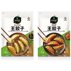 bibigo ビビゴ 王餃子 肉&野菜 キムチ 1000g×2袋セット