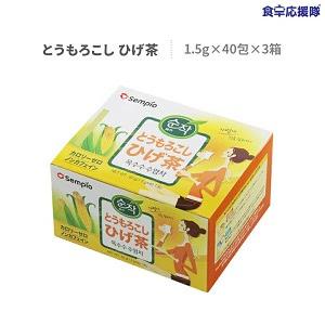 センピョ とうもろこしのひげ茶 40包入 3箱セット コーン茶 韓国茶【スンザク】