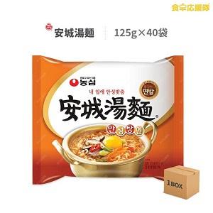 安城湯麺 125g 40袋 アンソンタン麺 農心 韓国ラーメン 韓国食品