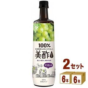 美酢 ミチョ マスカット ペット  900ml 12本 CJフーズ