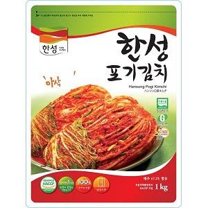 [冷]ハンソン白菜キムチ1kg(韓国産)