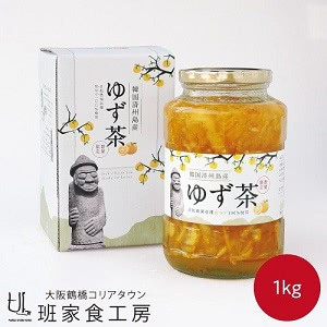 ★★新物入荷★★韓国 済州島産 ゆず茶 1kg(徳山物産)