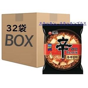 辛ラーメン BLACK 豆腐キムチ ラーメン 1ケース