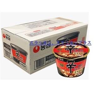 辛ラーメン BLACK 豆腐キムチ カップラーメン 1ケース