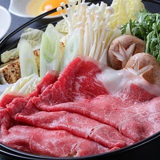 福島県産牛モモ肉すき焼き用