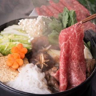 「うねめ牛」の赤身のすき焼き肉