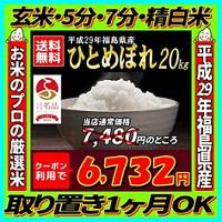 福島県産 ひとめぼれ 20kg
