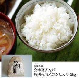 会津喜多方米 コシヒカリ5kg