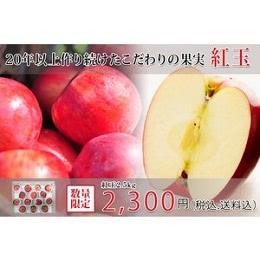 小玉紅玉りんご 2.5kg