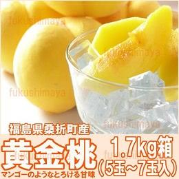 福島県桑折町産 黄金桃1.7kg