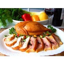 川俣軍鶏 シャモ肉の薫製 ハーフ