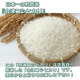 会津米コシヒカリ 5kg×2袋