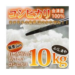 会津産 コシヒカリ 10kg