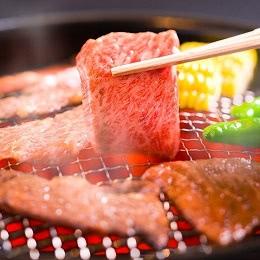 福島牛和牛ロース贅沢焼き肉用