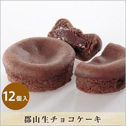 郡山生チョコケーキ 12個箱入