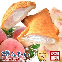 白桃果実入り たい焼き