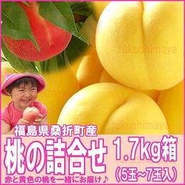 献上桃の郷 桑折町産 1.7kg