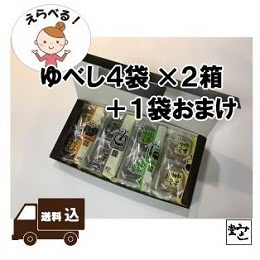 ゆべし4袋×2箱+1袋おまけ