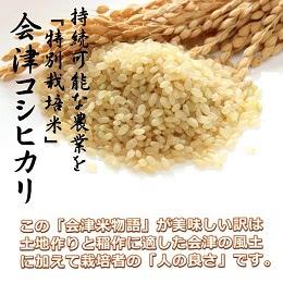 会津米物語コシヒカリ  10kg