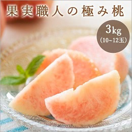 福島市飯坂町産の桃 3kg