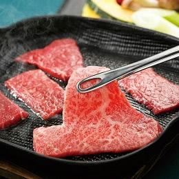 黒毛和牛(もも肉)焼き肉セット
