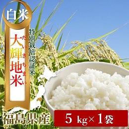 特別栽培米「大輝地米」白米5kg
