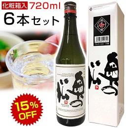 奥の松純米吟醸 720ml 6本