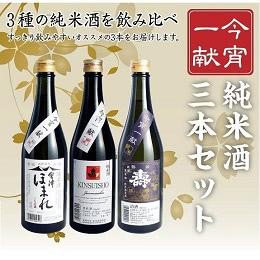 福島の純米酒3本セット