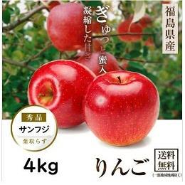ふじりんご 幻の蜜姫 4kg