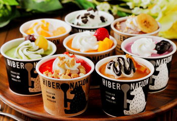 北海道 12種類の贅沢パフェアイス