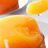 夕張メロンの果肉使用、新食感ゼリー