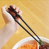 右手・左手、どんな風に握っても使えるお箸