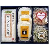 新米 有機栽培米コシヒカリと米粉麺セット