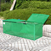 軽い・ソフト素材・女性でも運びやすい ゴミ収集所