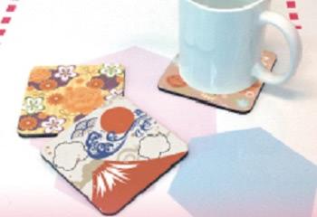 日本和柄オリジナルコースター
