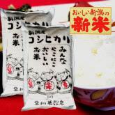 新米 新潟産コシヒカリ10kg(5kg×2袋)
