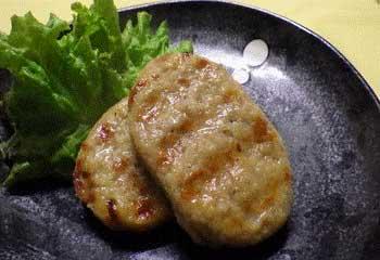 旨み溢れる国産牛豚ハンバーグ