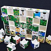 カレンダー パズル 小物入 紙製 ボックスパズル
