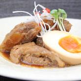 【送料無料】新潟県産豚肉使用! 豚ばら軟骨角煮