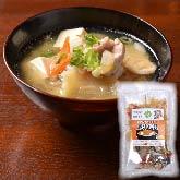 お肉とお好みの具材で美味しい豚汁が作れます!