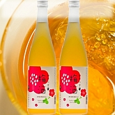 梅の実を丸一年漬け込んだ、味わいが濃厚な梅酒