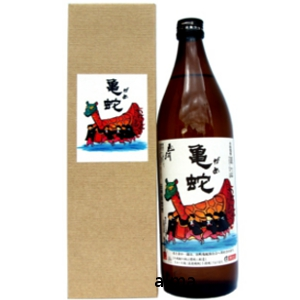 焼酎・純米亀蛇 山河 25度 900ml
