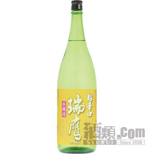 日本酒・瑞鷹 本醸造 超辛口