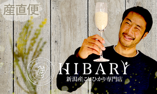 新潟産こしひかり<br>HIBARI