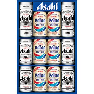 アサヒスーパードライ・オリオンビール詰め合わせギフトセット
