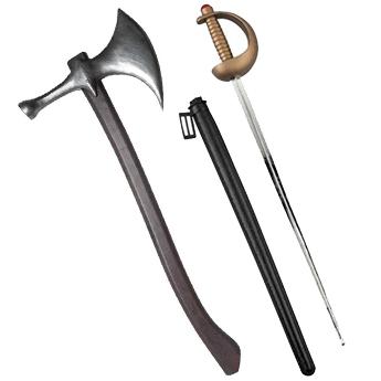 武器、小道具